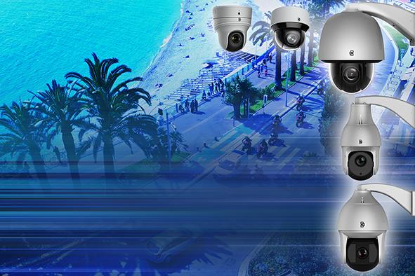 Novas câmaras IP PTZ H.265
