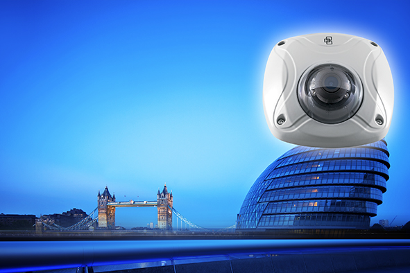 New wedge camera for existing CCTV installations