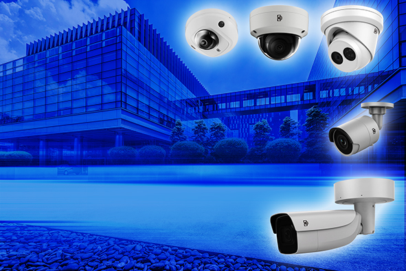 New IP network cameras