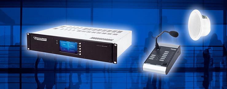 Sistemi EVAC Edwards certificati EN54