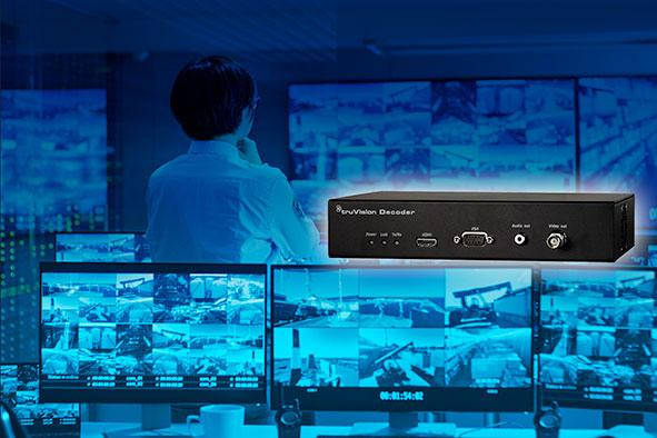 Nuevo decodificador TruVision TVE-DEC12