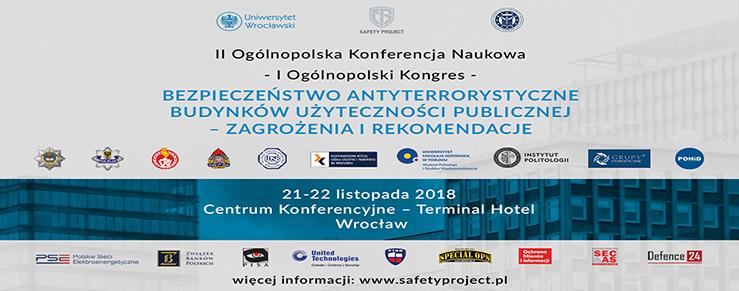 II kongres bezpieczeństwa antyterrorystycznego w Wrocławiu