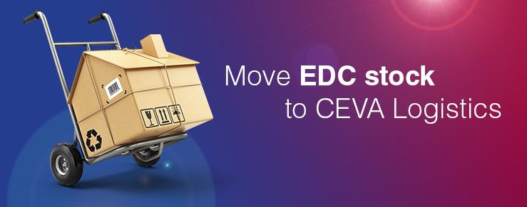 Traslado de EDC Weert a CEVA Logistics Born