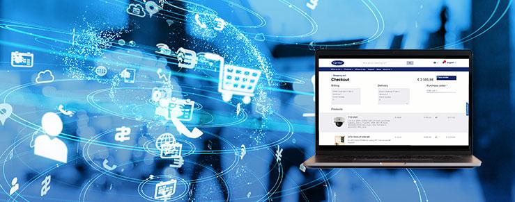 Risparmia tempo e ordina online i tuoi prodotti fire and security