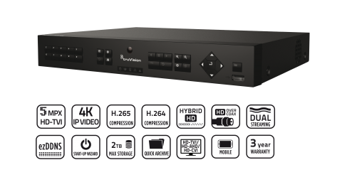 TVR 16 4ch recorder series image