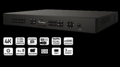 Série d'enregistreurs TVR 16 à 16 voies image