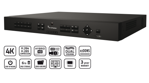 TVR 16 8ch recorder series image