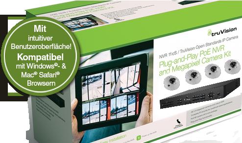 Nieuwe TruVision™ TVN-11 Kits